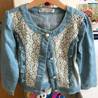 Girl jacket 5-6 yrs