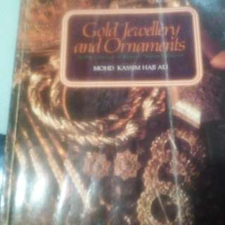 An Antique book Of Gold Jewellery ..n..Ornaments...OLD