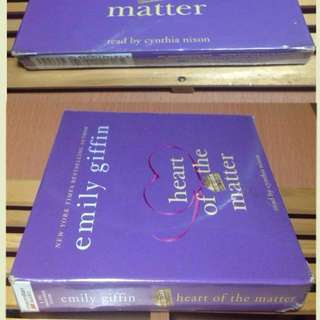 Emily Giffin Heart of the Matter 8CD Audiobook