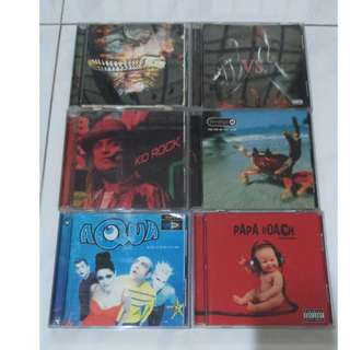 ORIGINAL Music CDs (Rock And Metal Collectibles)
