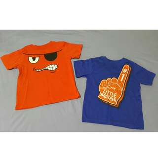 Brand New 2pcs Boy's Shirts 3T