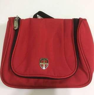 Ellehammer 紅色旅行多用途掛袋