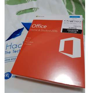 BNIB and Sealed - Microsoft Office Home and Student 2016