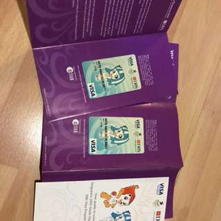 Singapore Youth Olympics Games Prepaid Card