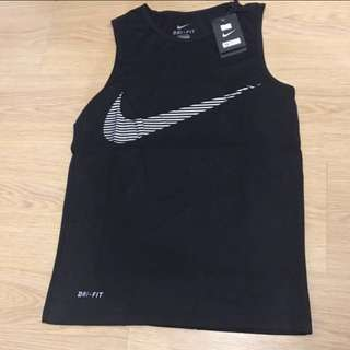 Nike Dri-Fit Sando - Black (XL)
