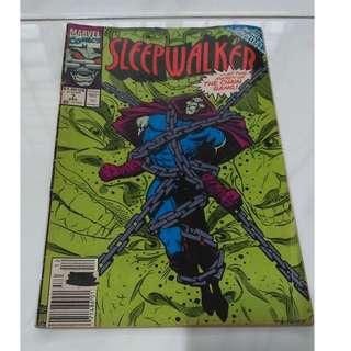 *Ultra Rare!* Sleepwalker Comic (Vintage Collectible!)