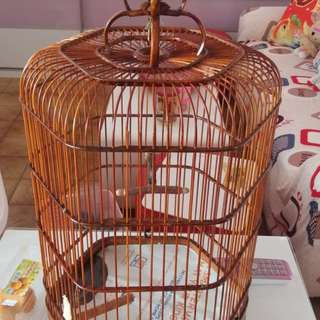 Finchs cages,L11,H17 to trade canary cage L12h18,in