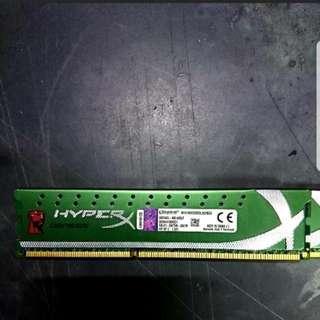 Kingston HyperX 8GB (4GB x 2) 1600MHz