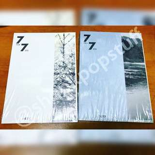 Got7 - 7 For 7 Album (Present Edition) + Poster in Tube Ready Stock