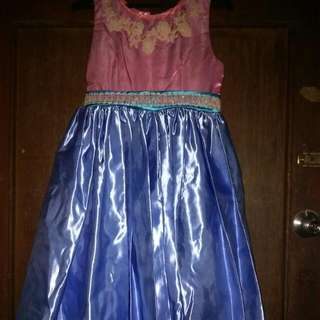 Baby Pink & Blue Gown