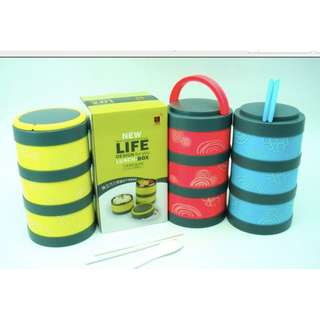 Life- 3 Layer Lunchbox