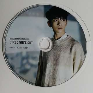 seventeen director's cut Joshua cd 有意direct