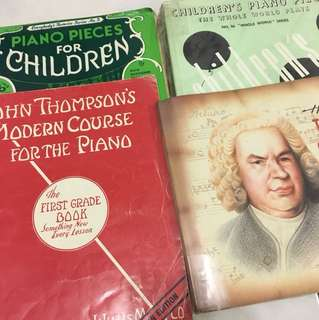 Basic Piano Children Books