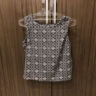 Printed top for sale! From London