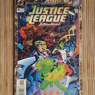 Justice League International Annual # 5