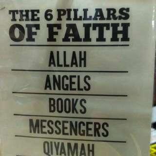 Islamic Stickers - Pillars of Faith