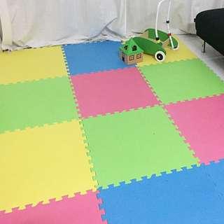 Baby nursery foam mat
