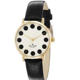 Kate spade watch polka dots 錶