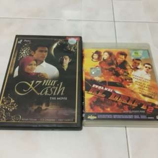 Selling this cd's and dvd's malay movies