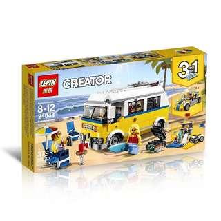 LEPIN 24044 Creator Sunshine Surfer Van