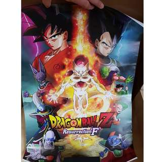 Posters + Folder: DragonBallZ + One Piece + Tales of Xillia