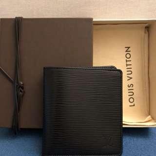 LV wallet 銀包 黑色 全新