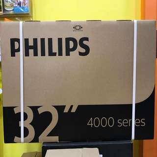 BRANDNEW/SEALED PHILIPS 32inch DVB T/T2