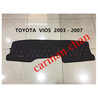TOYOTA VIOS 2003-2007 DAD NON SLIP DASHBOARD COVER WITH DIAMOND