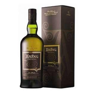Ardbeg Conrryvreckan the Ultimate Scotland Single Malt Whisky 雅柏漩渦威士忌