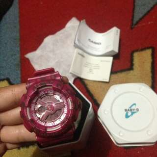 Baby G Shock pink
