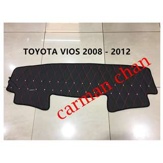TOYOTA VIOS 2008-2012 DAD NON SLIP DASHBOARD COVER WITH DIAMOND