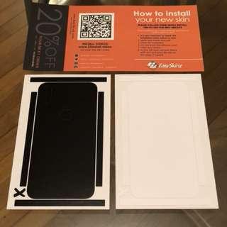 iPhone X EasySkinz 背貼