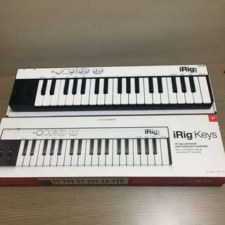 iRig 37 Keys Piano Midi Controller for iOS Device