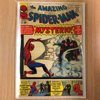 MARVEL COMICS The Amazing Spider-Man #13-1st Appearance & Origin of Mysterio (Serious Buyers Only)