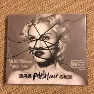 瑪丹娜 madonna 心叛逆rebel heat 不含特製悠遊卡