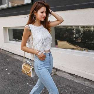Chic Chick Fringe Top (T003)