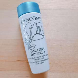 Lancome 清柔卸妝乳 Galatéis Douceur Gentle Softening Cleansing Fluid Face  and eyes