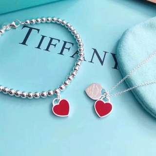 Tiffany & Co 心形手鏈