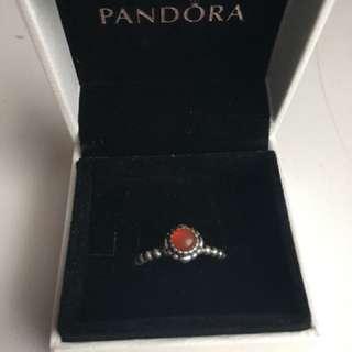 Pandora Eternal Clouds Birthstone Stackable Ring