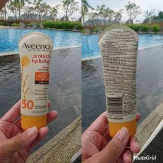 Aveeno sunscreen lotion