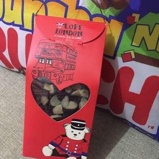 fudgy brownies in a cute box