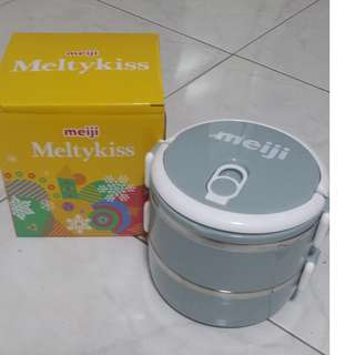 (BN) Meiji food storage containers (Ting Kat)