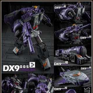 DX9 D05 Chigurh - Transformers Masterpiece MP Astrotrain (Reissue)