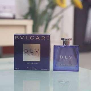 Bvlgari Blv Notte Pour Homme 5mL Decant (Discontinued)