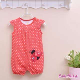Girls Rompers (Size 6m to 24m)
