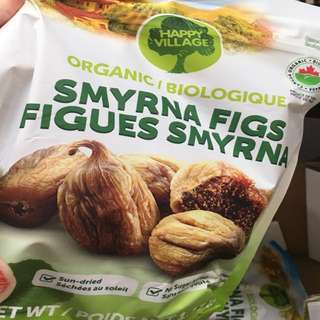 Organic Happy Village Smyrna Figs 1.13 kg 土耳其無花果(加拿大直送)
