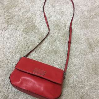 Marc by marc jabos red leather bag