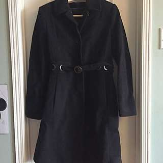 Via Spiga Wool/Cashmere Coat Size 8(M)