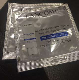 """lancome ultimate multi skin protection """"2包)包郵"""