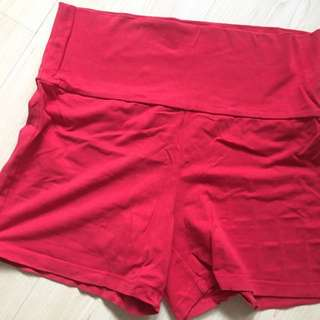 Maternity short red and blue ( comfy and stretchable)